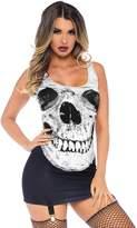 Leg Avenue womens Adult Skull Garter Dress