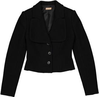 Alaia Black Wool Jacket for Women
