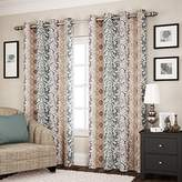 Eclipse Curtains Eclipse 14891052095SPA Shayla 52-Inch by 95-Inch Room Darkening Single Window Curtain Panel, Spa