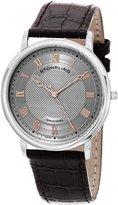 Stuhrling Original Men's 645.02 Classique Analog Display Swiss Quartz Brown Watch
