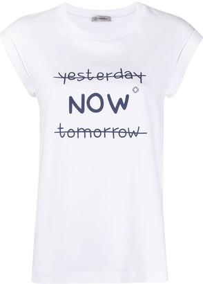 Peserico 'Now' print T-shirt