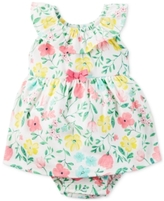 Carter's Cotton Floral-Print Skirted Romper, Baby Girls (0-24 months)