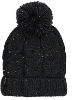Swell Cuffed Cable Knit Pom Pom Beanie