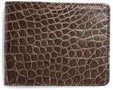 Brooks Brothers Slim Alligator Wallet