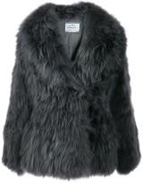 Prada Oversized Fur Coat