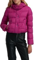 Sportmax Code Quilted Short Jacket In Fucsia.