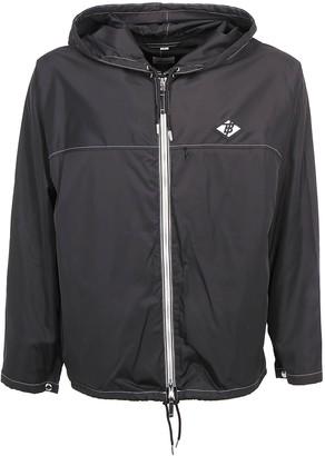 Burberry Logo Graphic Packaway Lightweight Hooded Jacket