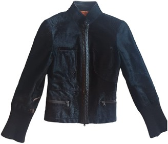 Tod's Brown Leather Leather Jacket for Women