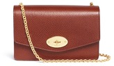 Mulberry 'Postman's Lock Clutch' vegetable leather chain bag