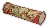 Rose Tree Durham Fringed Floral & Herringbone Neckroll Pillow