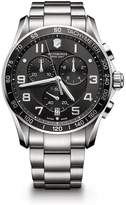 Victorinox Men's Chronograph Class XLS Stainless Steel Watch, 45mm
