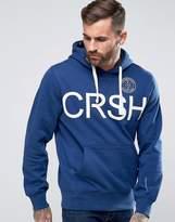 Crosshatch Logo Pullover Hoody