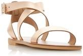 Dune London Lottiie Multistrap Flat Sandals