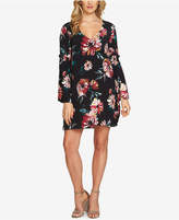 1 STATE 1.STATE Bell-Sleeve Shift Dress