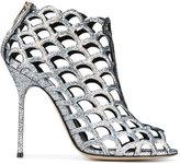 Sergio Rossi glitter embellished sandals