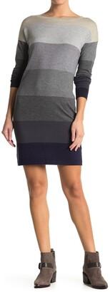 Love Stitch Colorblock Sweater Dress