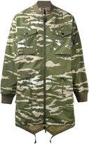 MHI camouflage parka - men - Nylon - M