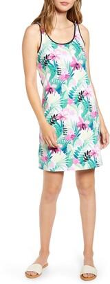 Tommy Bahama Bella Blossoms Cotton Blend Tank Dress