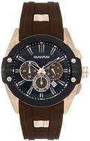 Quantum Hunter Men's Quartz Watch with Chronograph Quartz Silicone hng378.842