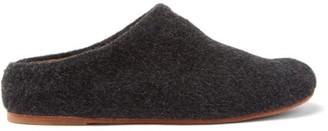 LAUREN MANOOGIAN Mono Alpaca-blend Flats - Black