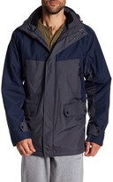 Izod Colorblock Detachable Hood Rip-Stop Systems Jacket