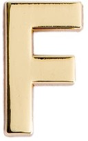 Make Heads Turn Letter F Pin