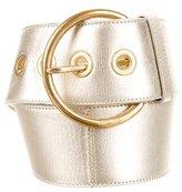 Miu Miu Metallic Waist Belt