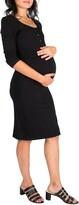 Nom Maternity Snap Maternity/Nursing Dress