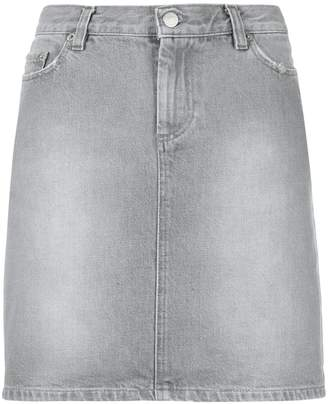 Helmut Lang Pre-Owned short denim skirt