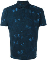 Valentino Rockstud butterfly print polo shirt
