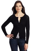Only Hearts Club Women's Tulle 2 Ply Cardigan
