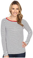 Jag Jeans Brier Stripe Tee Classic Fit Shirt Striped Jersey