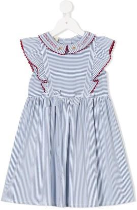 Gucci Kids Pinstriped Sailor Dress
