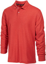 Club Room Men's Performance Sun Protection Long-Sleeve Polo