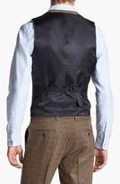 Topman Check Tweed Vest