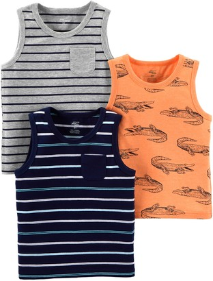Simple Joys by Carter's 3-pack Tank Tops T-Shirt Set