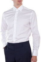 Hardy Amies Self Stripe Contemporary Fit Shirt