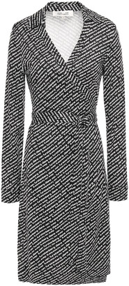 Diane von Furstenberg New Jeanne Printed Silk-jersey Wrap Dress