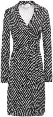Diane von Furstenberg New Jeanne Printed Silk-jersey Wrap Dress