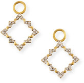 Jude Frances Moroccan Open Earrings Charms with Diamonds
