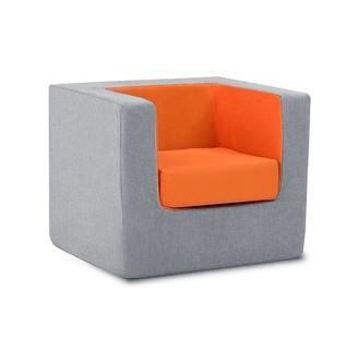 Monte Cubino Kid's Size Chair Nordic Grey/Orange