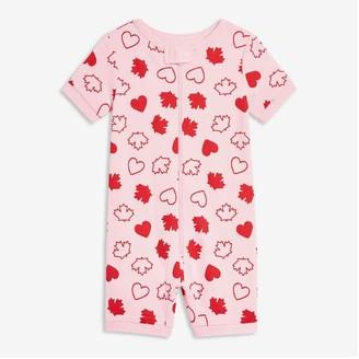 Joe Fresh Baby Girls' Sleep Romper, Pastel Pink (Size 0-3)