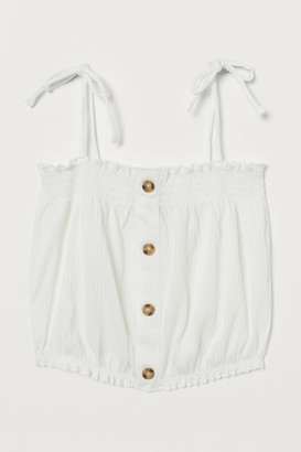 H&M Smocked strappy top