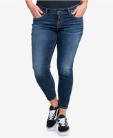 Silver Jeans Co. Plus Size Suki Skinny Ankle Jeans