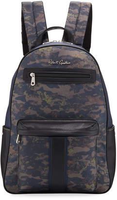 Robert Graham Men's Albani Camo-Print Backpack