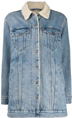 Levi's Trucker oversized denim jacket