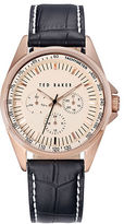 Ted Baker Mens Rose Goldtone Chronograph Watch