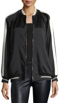 RED Valentino Bomber Jacket w/ Eagle Embroidery