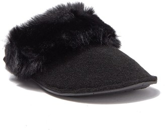 Crocs Classic Luxe Faux Fur Trimmed Slipper