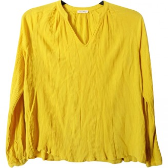 American Vintage Yellow Top for Women